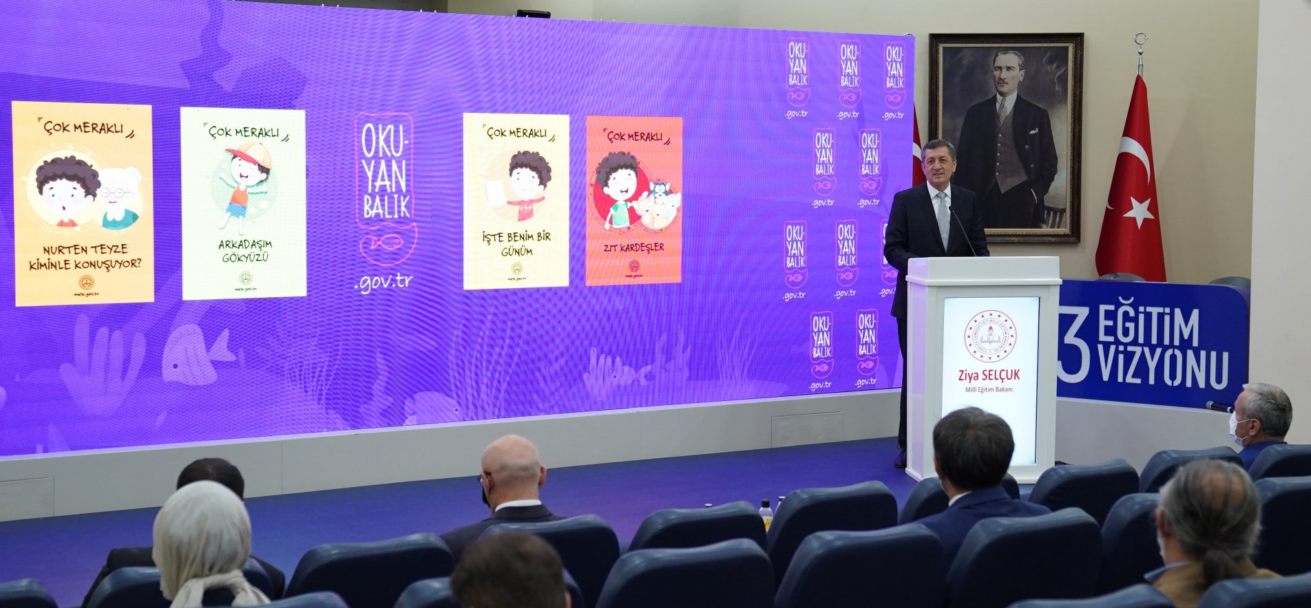MINISTER SELÇUK INTRODUCES